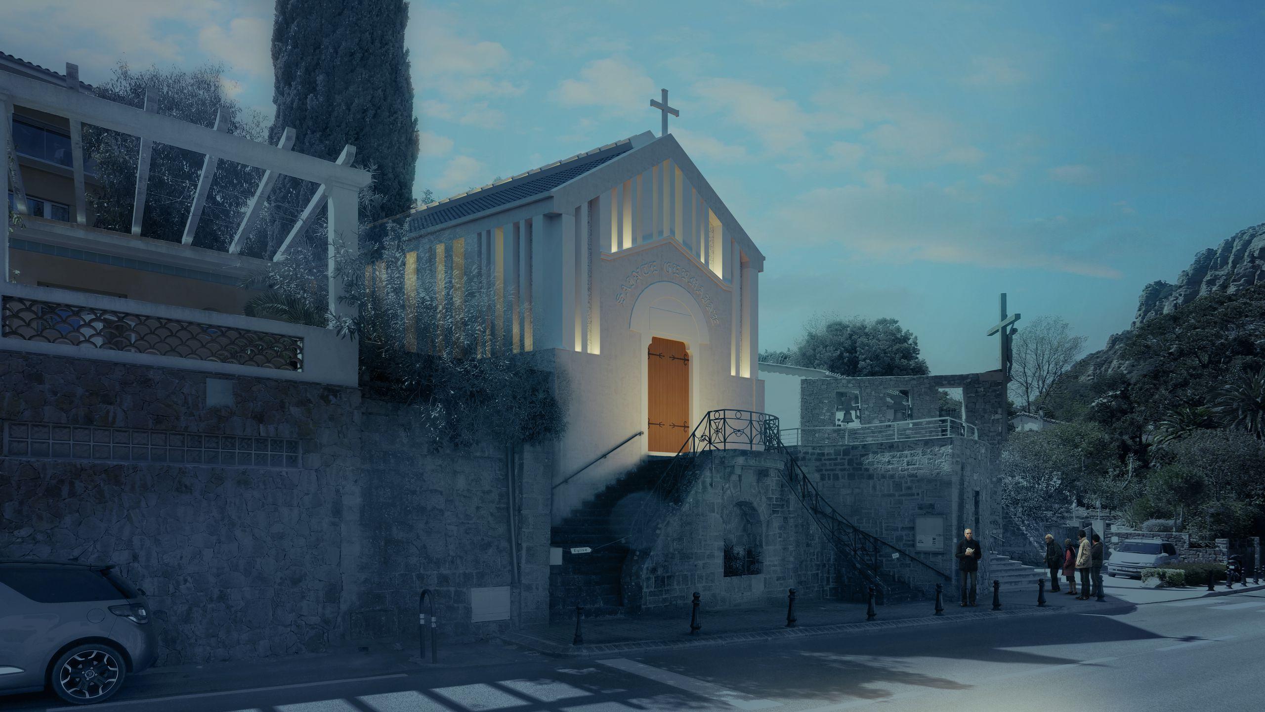 Eglise Ste Germaine - Lauréat
